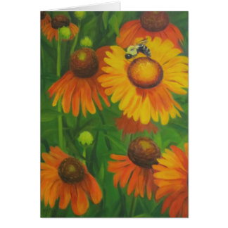 """""""Busy Bee"""" Greeting Card"""