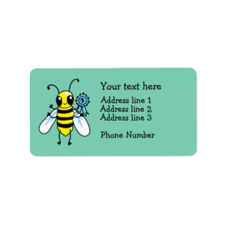 Busy Bee hard work Address Label
