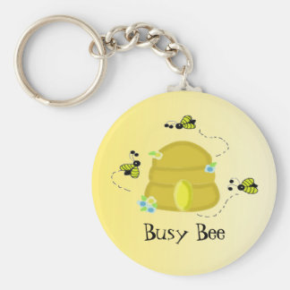 Busy Bee Key Ring