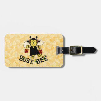 Busy Bee Tag For Bags