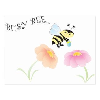 Busy Bee Postcard