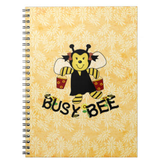 Busy Bee Spiral Note Book