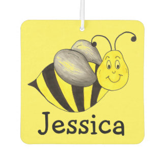 Busy Bee Yellow Bumblebee Personalized Insect