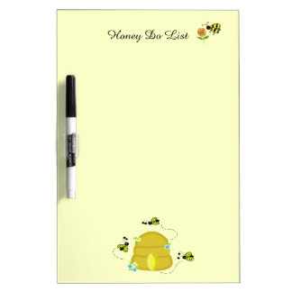 Busy Bees Honey Do List Dry Erase Board
