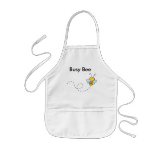 Busy Bumble Bee Kids Apron
