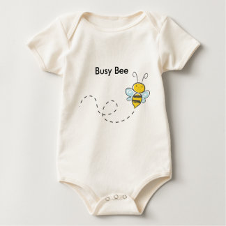 Busy Bumble Bee Baby Bodysuit