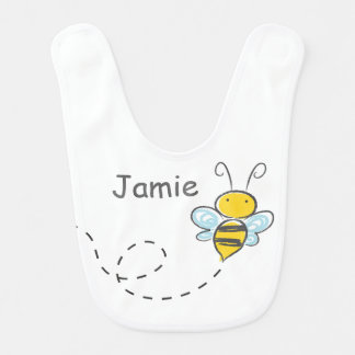 Busy Bumble Bee Bibs