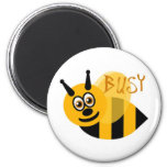 Busy Bumble Bee Cute Fridge Magnet
