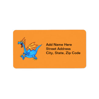 Busy Dragon Address Label