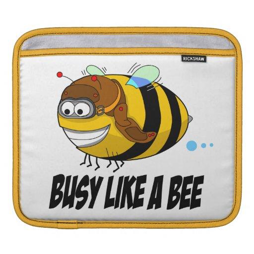 Busy Like A Bee iPad Sleeve