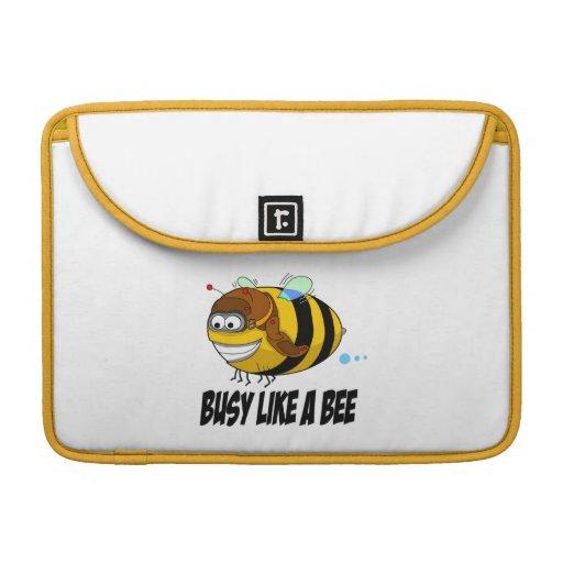 Busy Like  A Bee MacBook Sleeve Sleeves For MacBooks