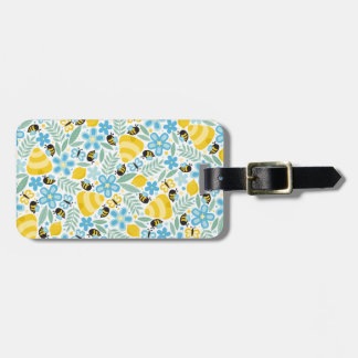 Busy Little Honeybees Luggage Tag