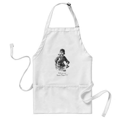 Busy Mom ~ Did you say Spare Time??? Apron