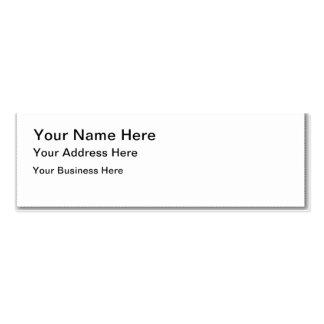 Busystationer Skinny Business Card