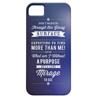 But A Lone Mirage To See... Case For The iPhone 5