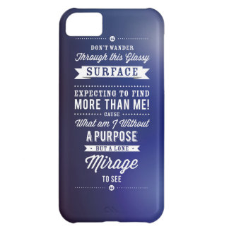 But A Lone Mirage To See... iPhone 5C Cover