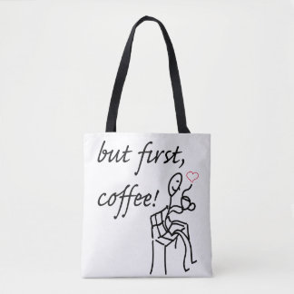 But first coffee all-over tote / bag tote bag