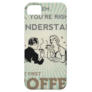 BUT FIRST COFFEE CASE FOR THE iPhone 5