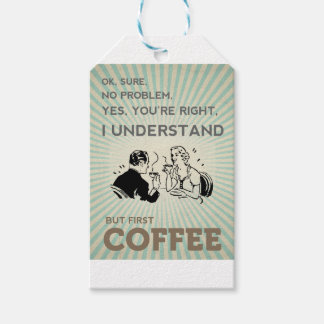 BUT FIRST COFFEE GIFT TAGS