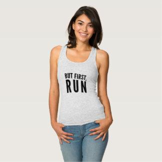 But First Run Singlet