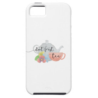 But first, Tea Case For The iPhone 5