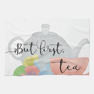But first, Tea Tea Towel