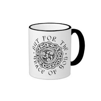 But for the Grace of God 11 oz mug left-handed