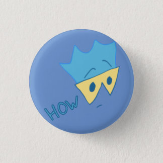 But How Button (Cyan on Periwinkle)