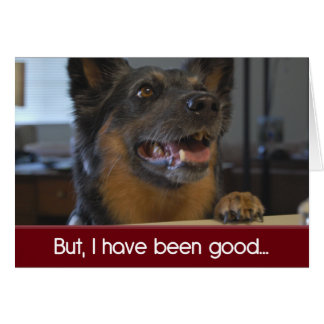 But I Have Been Good | Christmas Cards