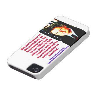 But Just To Know Of The Conditions - Bill Clinton. Case-Mate iPhone 4 Case