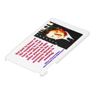 But Just To Know Of The Conditions - Bill Clinton. iPad Mini Case