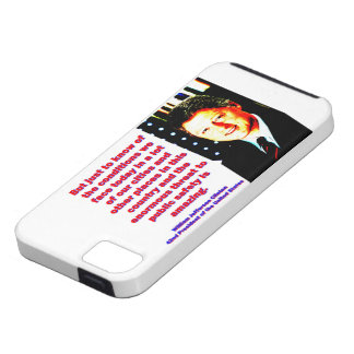 But Just To Know Of The Conditions - Bill Clinton. Tough iPhone 5 Case