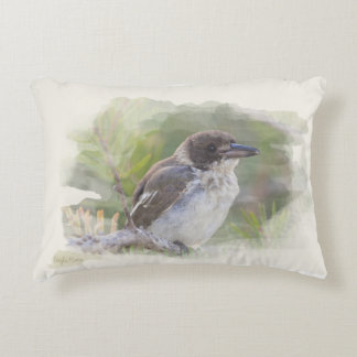Butcher bird decorative cushion