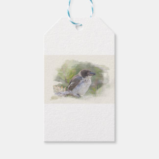 Butcher bird gift tags