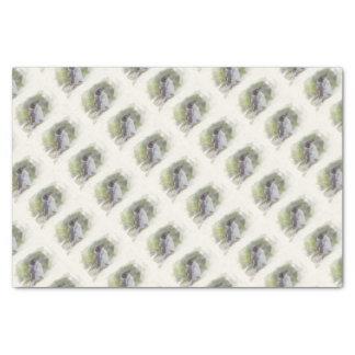 Butcher bird tissue paper