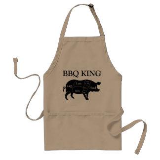 Butcher Chart Cuts of Pork Pig BBQ King Standard Apron