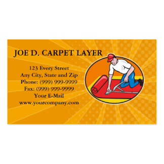 Butcher Cutter Worker Meat Cleaver Knife Retro Pack Of Standard Business Cards