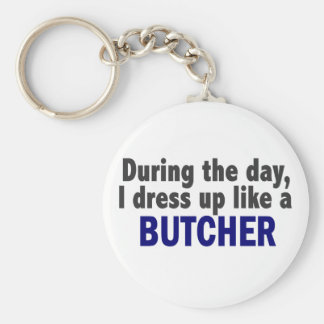 Butcher During The Day Key Ring