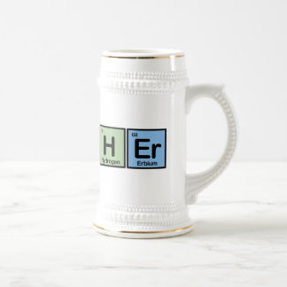 Butcher made of Elements Beer Stein