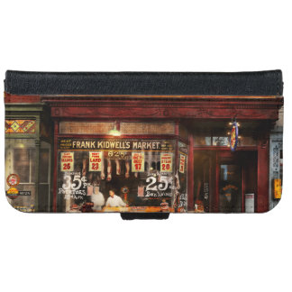 Butcher - Meat priced right 1916 iPhone 6 Wallet Case