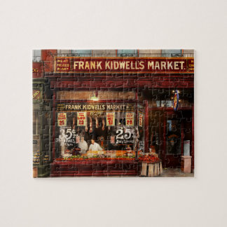 Butcher - Meat priced right 1916 Jigsaw Puzzle