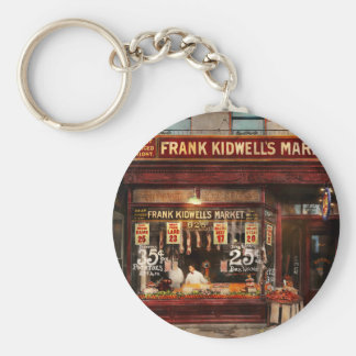 Butcher - Meat priced right 1916 Key Ring