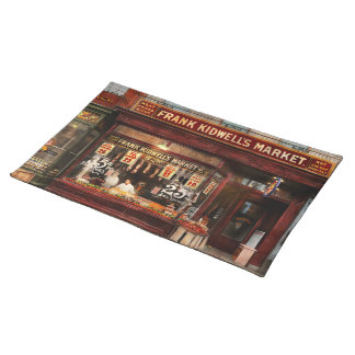 Butcher - Meat priced right 1916 Placemat