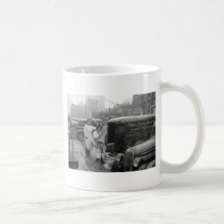 Butcher Shop Boys, 1938 Basic White Mug