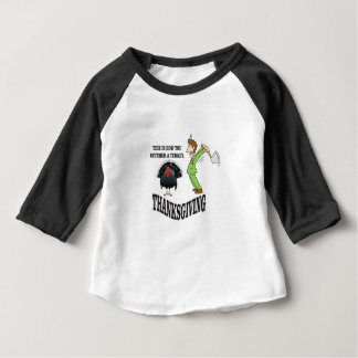 butcher turkey t-day baby T-Shirt