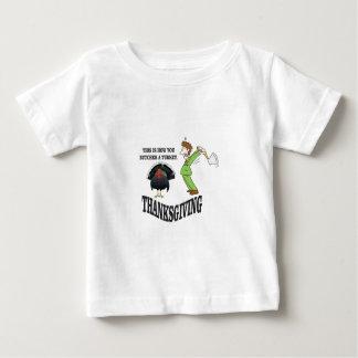 butcher turkey t-day baby T-Shirt