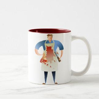 Butcher Two-Tone Coffee Mug