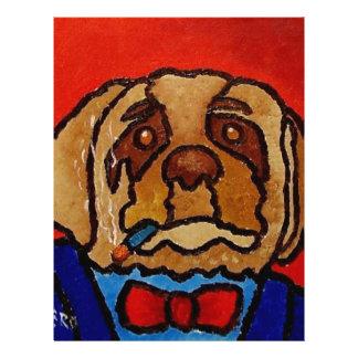 Butchie Dog by Piliero 21.5 Cm X 28 Cm Flyer