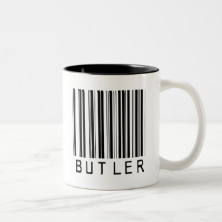 Butler Bar Code Two-Tone Coffee Mug