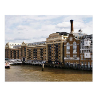 Butlers Wharf On The River Thames In London Postcard